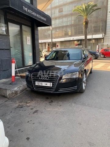 Voiture Audi A8 2013 à casablanca  Diesel  - 12 chevaux