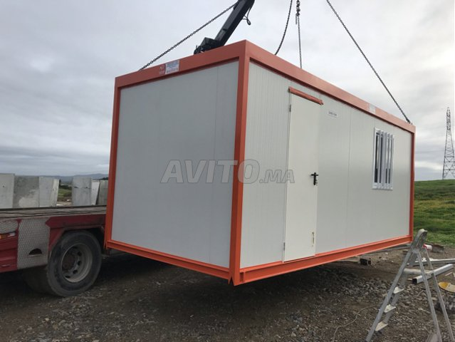 Caravanes de chantier 4m