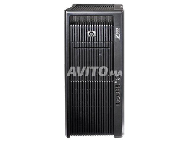 HP Z800 workstation - gaming للبيع في مكناس في كمبيوتر منزلي | Avito ma