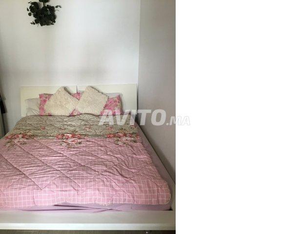 Chambre a coucher blanc laque moderne à vendre à Rabat dans Meubles ...