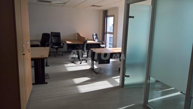 Bureau meuble de m centre ville للبيع في الدار البيضاء في