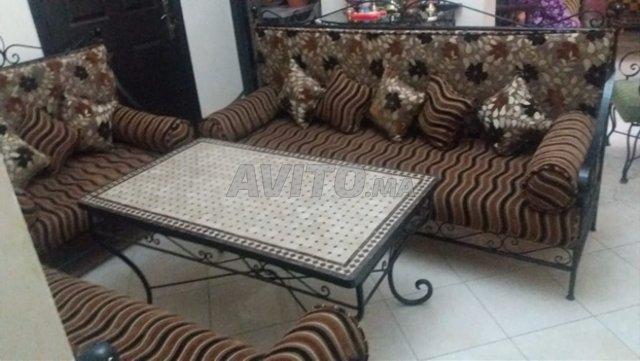Salon En Fer Forge A Vendre A Marrakech Dans Meubles Et Decoration