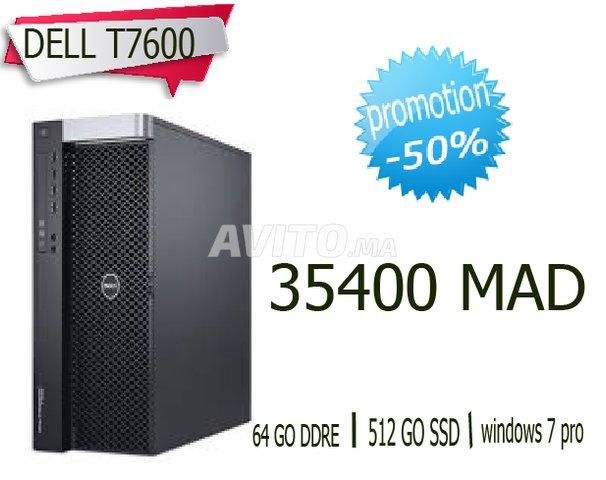 DELL Precision T7600/ Modelisation et rendu 3D للبيع في