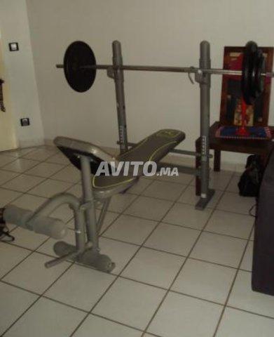 Banc Musculation Domyos Bm 160 à Vendre à Rabat Dans Sports Et
