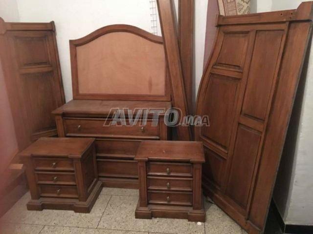 Chambre A Coucher En Bois Massif A Vendre A Marrakech Dans Meubles