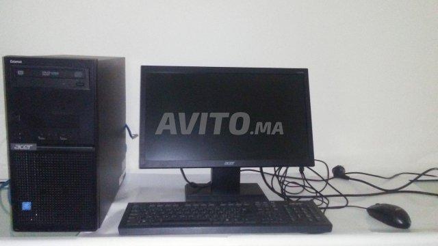 Ordinateur a vendre à vendre à tanger dans ordinateurs de bureau