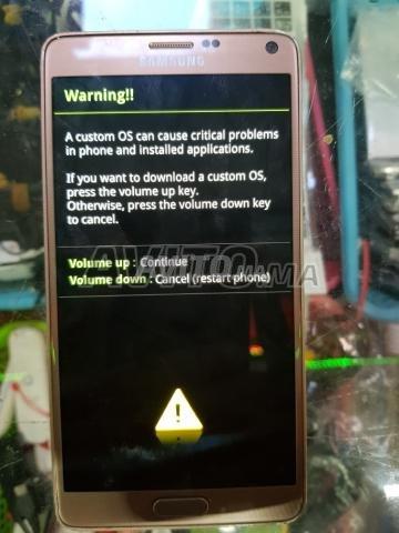 samsung note 4 للبيع في مراكش في تلفونيات | Avito ma