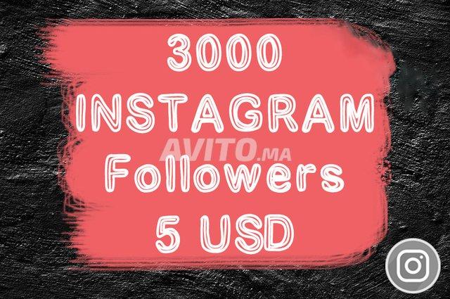 3000 Instagram followers للبيع في الدار البيضاء في آخر | Avito ma
