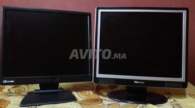 Deux écrans plasma pour ordinateur à vendre à rabat dans