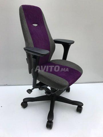 Chaise De Bureau Pro Kinnarps Mauve