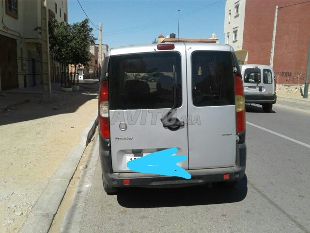 Voiture Fiat Doblo 2009 à laâyoune  Diesel  - 5 chevaux