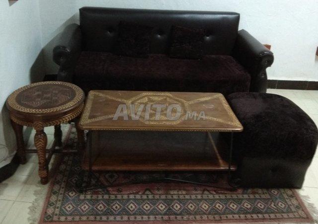 Salon chic marron à vendre à Essaouira dans Meubles et Décoration ...