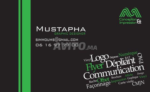 Infographiste Montage VD Impression En Freelance
