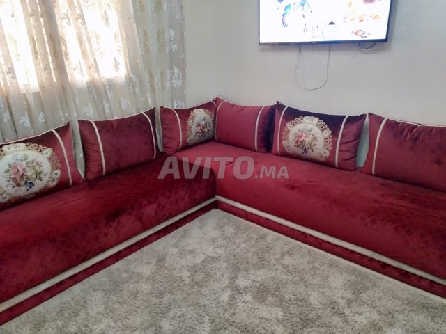 salon marocain à vendre à Temara dans Meubles et Décoration   Avito.ma