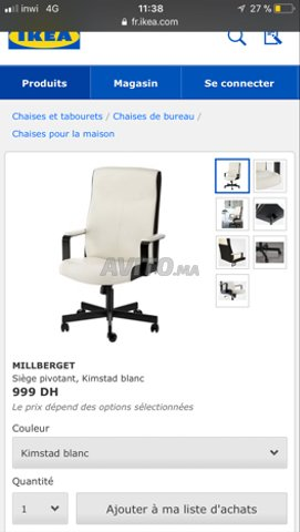 Meubles À Dans Et Décoration Bureau Ikea Oujda Chaise Vendre