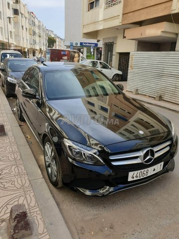 Voiture Mercedes benz Classe c 2016 à rabat  Diesel  - 9 chevaux