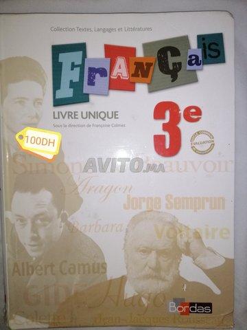 Livre Francais Texto 3eme Annee College Bordas