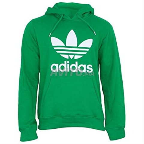 sweat adidas vert