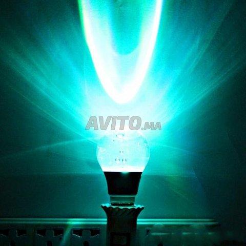 Led À Vendre Cristal Rgb Tête Rond En Lam 3watts Lampe 53jqRL4A