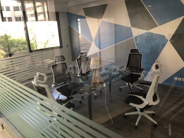 Plateau bureau meublé open space للبيع في الرباط في مكاتب avito ma