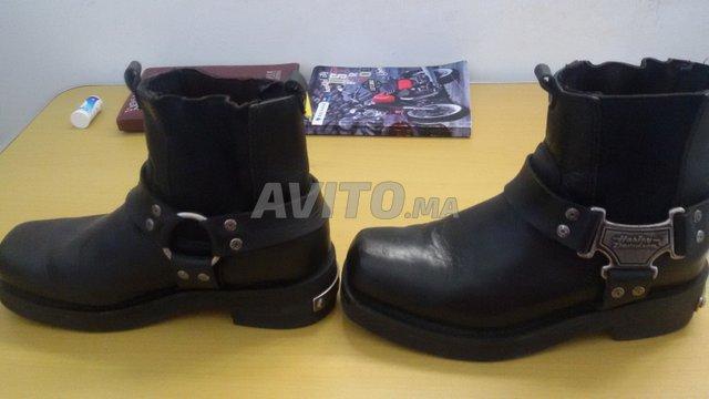 États Unis conception populaire magasiner pour le luxe Chaussure moto harley davidson