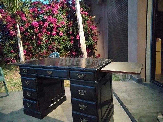 Bureau laqué noir roche bobois à vendre à marrakech dans meubles et