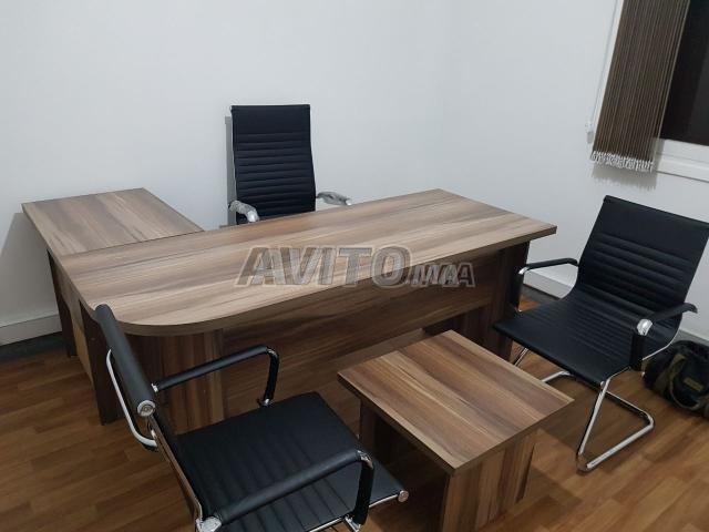 Meuble Bureau Wassim : Stook des bureau et chaise new à vendre à rabat dans matériels