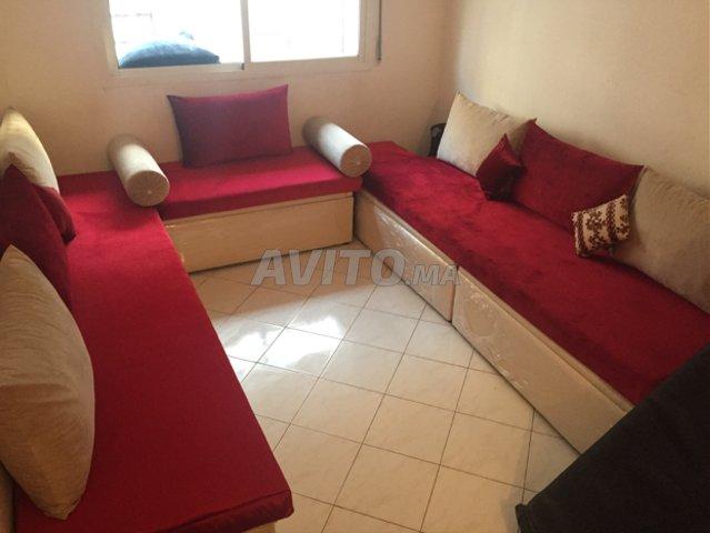 Nouveau salon marocain moderne avec rangement à vendre à Casablanca ...
