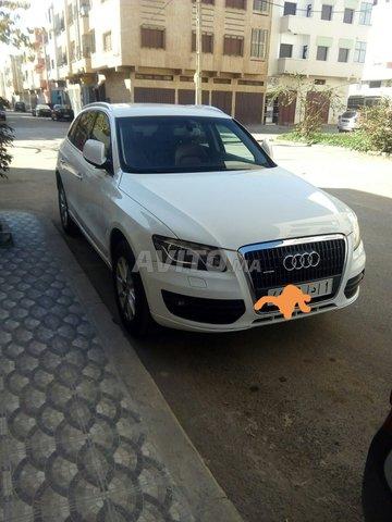 Voiture Audi Q5 2011 à rabat  Diesel  - 8 chevaux