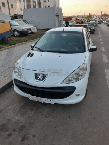 Voiture Peugeot 206 2011 à salé  Diesel