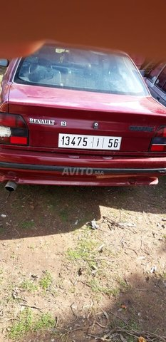 Voiture Renault R19 1990 à casablanca  Essence  - 6 chevaux