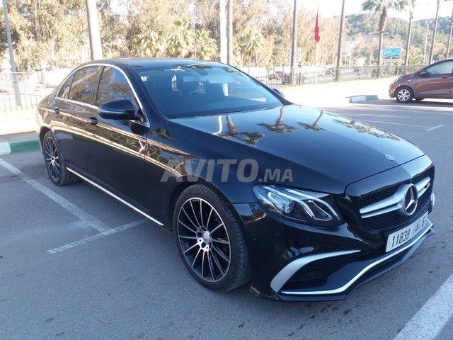 Voiture Mercedes benz Classe e 2017 à rabat  Diesel  - 8 chevaux