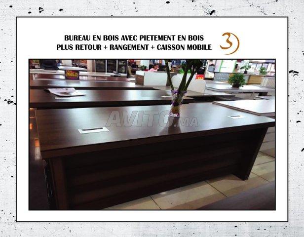 Bureau en bois qualité de l importation dispo à vendre à rabat