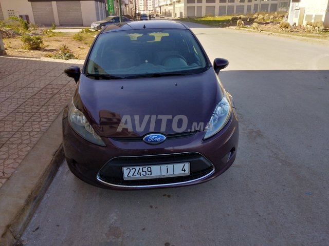 Voiture Ford Fiesta 2010 à kénitra  Essence  - 6 chevaux