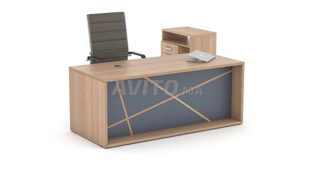 Bureau bois complet importation beauty design à vendre à tanger