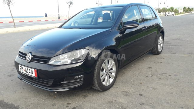 Voiture golf 7 diesel full option d'origine Allema -2016