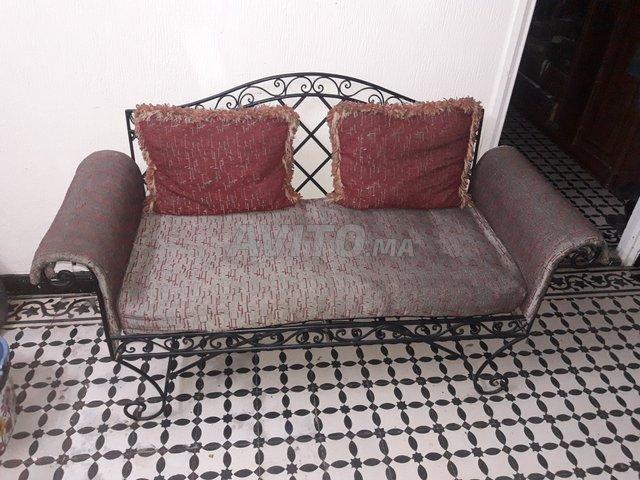 Salon En Fer Forge A Vendre A Fes Dans Meubles Et Decoration Avito Ma