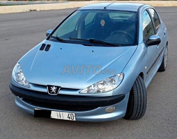 Voiture Peugeot 206 2004 à nador  Essence  - 5 chevaux