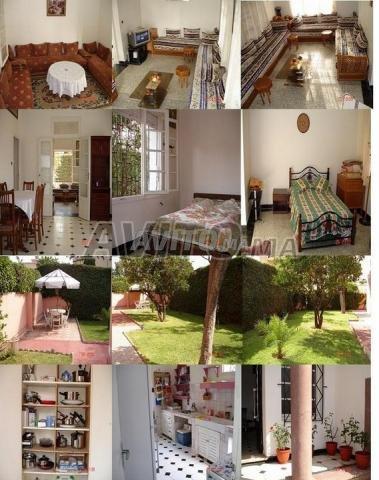 Location par jour casablanca Maroc villa meublée