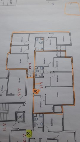 plan appartement bayti sakane
