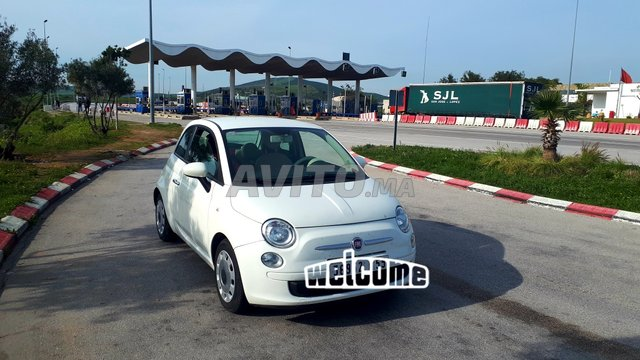 Voiture Fiat 500 2014 à tanger  Essence  - 6 chevaux