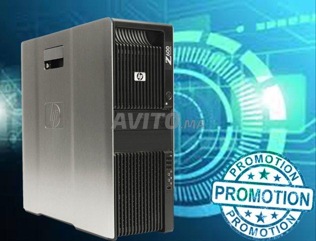 HP Z600 WorkStation AVEC NVIDIA QUADRO K5000 للبيع في مكناس
