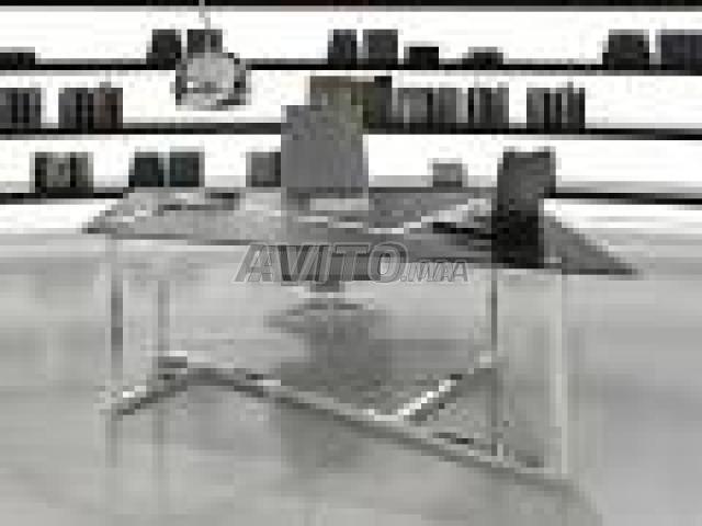 Table en bois brut siege de bureau cuir homeo textiles